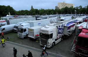 DFB-Pokal 2014_Uebertragungswagen