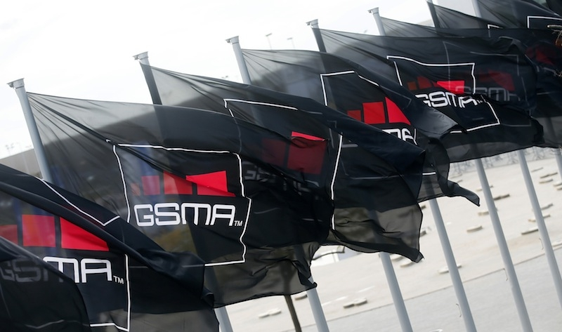 GSMA flag_Mobile World Congress 2015